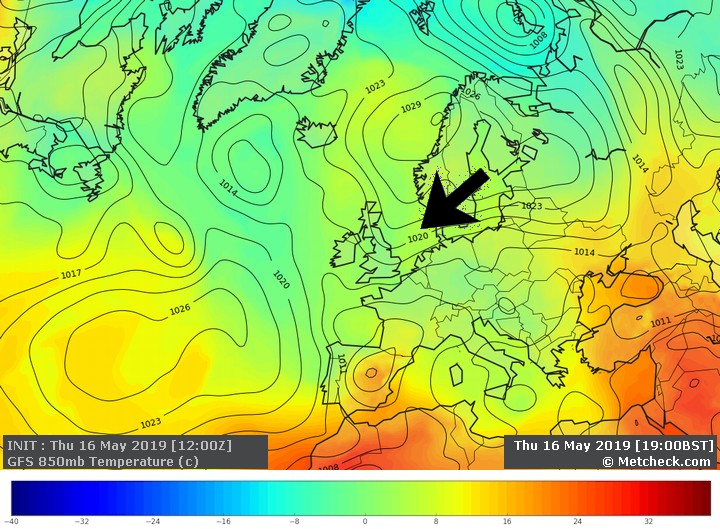 Metcheckcom United Kingdom Forecast Weather Charts 10 Day