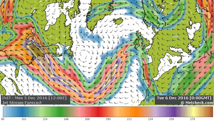 Metcheck.com - Weather Forecast Discussions - The Jet Stream And Our ...