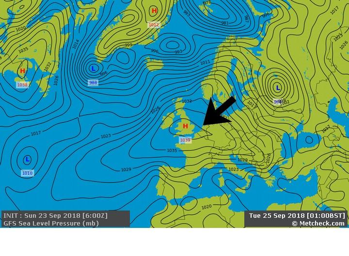 Metcheck.com - 16 Day United Kingdom Jet Stream Forecasts