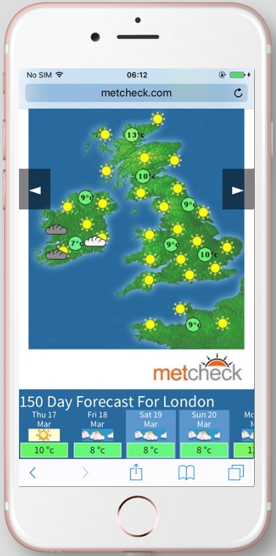 Weather Map Apps.Metcheck Com Metcheck Weather Apps Android Ios And Kindle